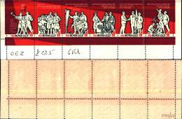 83966) Russia -1963- Pace-n.2722-27 In Blocco -nuovi-cat-4 Euro