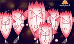 CELEBRATIONS-LAMPSHADES-STAMPS  BOOKLETS-SRI LANKA-SET OF 4-MNH-B9-117 - Other