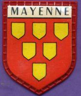 Autres Collections - écusson Plastique - Blason - Mayenne - Scudetti In Tela