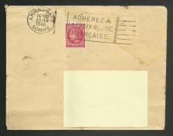 AMIENS - SOMME / FRANKERS SECAP / Adhérez à La Croix Rouge Française / 1946 - Marcophilie (Lettres)