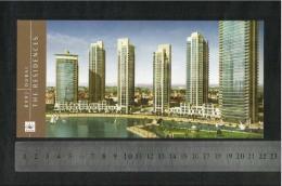 United Arab Emirates UAE Dubai Picture Postcard Burj Dubai The Residences View Card - Dubai