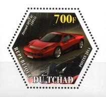 Tschad  Wabenmarke Ferrari 2014  **/MNH - Voitures