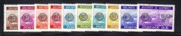 GUERNSEY 1977 , Segnatasse Serie Completa N. 18/27  *** MNH - Guernesey