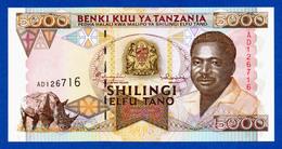 Tanzania 5000 Shilingi 1995 Ali Hassan Mwinyi P28 Unc - Tanzania