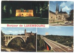 LUSSEMBURGO - LUXEMBOURG - Bonjour De … - Multivues - Not Used - Luxembourg - Ville