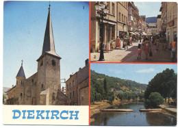 LUSSEMBURGO - LUXEMBOURG - 1979 - 5F + Flamme Pour Vos Vacances - Diekirch - Multivues - Viaggiata Da Echternach Per ... - Diekirch