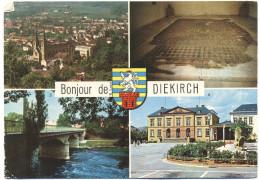 LUSSEMBURGO - LUXEMBOURG - 1979 - 5F Damaged Stamp + Flamme Sport As Freed - Bonjour De Diekirch - Multivues - Viaggi... - Diekirch