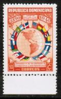 DOMINICAN REPUBLIC   Scott # 354* VF MINT HINGED - Dominican Republic