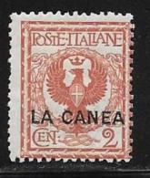 Italy Offices In Crete Scott # 4 Mint Hinged Italy Stamp Overprinted LA CANEA, 1906 - La Canea