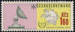 Czechoslovakia / Stamps (1974) 2109: 100th Anniversary Of Universal Postal Union (1,60 Kcs) Painter: Frantisek Hudecek - UPU (Union Postale Universelle)