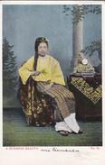 MYANMAR--BURMA---A BURMESE BEAUTY---(costume)-- Voir 2 Scans - Myanmar (Burma)