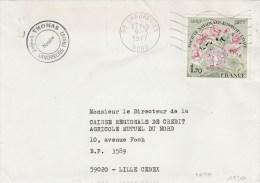 YVERT 1930 SEUL SUR LETTRE LANDRECIES NORD 9/5/77 AU TARIF 2ECH POUR LILLE - Covers & Documents