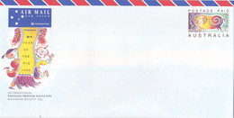 Australia 1995 Year Of The Pig  International Prepaid Envelope