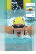 Australia 2012 Sporting Legends ,Susie O'Neill,swimming, Maximum Card - Maximumkaarten