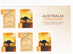 Australia 2016 Concession Booklet Mint - 2010-... Elizabeth II