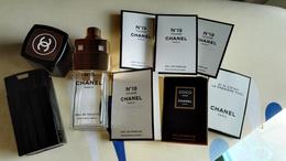 Lot-échantillon Tube étuit Vapo Vide Chanel - Perfume Miniatures