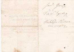Italia 1799 Lettera  Per Dare Alloggio Alla Armata Francese - Italy