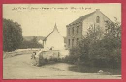 Kanne / Canne - Le Centre Du Village Et Le Pont - 1927 ( Verso Zien ) - Riemst
