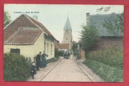 Landen - Rue Du Chat / Katstraat - 1910 ( Verso Zien ) - Landen