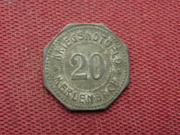 JETON Merlebach Valeur 20 PF - Monetari / Di Necessità