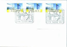 Deutschland SSt. Berlin '150 J. Berliner Rohrpost' / Germany Pmk. '150th Ann. Of Berlin Pneumatic Post' 2015 - BRD