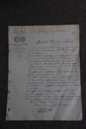 Lettre Ancienne Publicitaire , PEPIEUX - 3/6 Du MIDI , THERON Fils. - 1800 – 1899