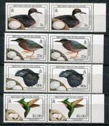 1990-BRIT.VIRGIN ISL.BIRDS-8 VAL. LUXE !! - British Virgin Islands