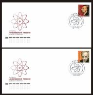 RUSSIA 2008 № 1218 Nobel Laureates. The 100th Birth Anniversary Of L.D.Landau (1908-1968). & I.M.Frank (1908-1990) - Nobel Prize Laureates