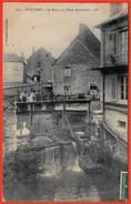 Rare CPA 71 MARCIGNY - Le Ruisseau - Place Reverchon ** L. François - Other Municipalities