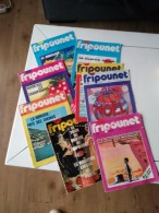 LOT DE 8 FRIPOUNET - Fripounet