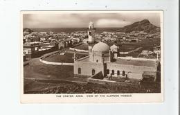 ADEN 35 THE CRATER VIEW OF THE ALDROOS MOSQUE - Yémen
