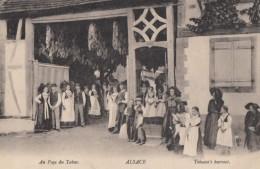 CPA - Au Pays Du Tabac - Alsace - Culture