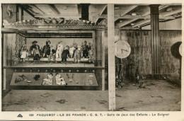 GUIGNOL(BATEAU PAQUEBOT ILE DE FRANCE) - Games & Toys