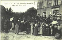 Carte Postale Ancienne De VOISEY-remise Du Diplôme Pour Mémoire Des Enfants Morts Pour La France - France