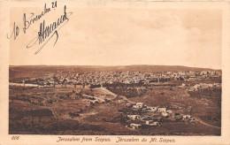 ¤¤  -   606   -  ISRAEL   -  JERUSALEM From Scopus    -   ¤¤ - Israel