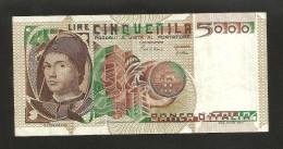 REPUBBLICA ITALIANA - 5000 Lire - Antonello Da MESSINA (Decr. 01/07/1980 - Firme: Ciampi / Stevani) - 5000 Lire