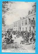 75-PARIS-événements De La Commune (1871) Les Otages Condamnés à Mort Sont Conduits Au Mur  -cpa Non écrite - Altri