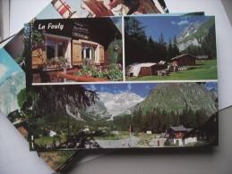 Zwitserland Schweiz Suisse VS La Fouly Camping Des Glaciers - VS Valais