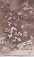 Carte 1910 AMITIES DE GIVET - Givet