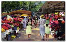 CPA Nice Le Marche Aux Fleurs - Niza