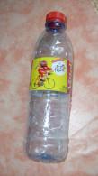 Sports-Cyclisme-Tour De France 2016 -bouteille Plastique Vide VITTEL 50cl Avec Logo Tour De France.....à Saisir - Cyclisme