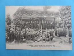 SEZANNE - Fêtes Des 15 Et 16 Septembre 1912. La Tribune ( Plis !!!) - Sezanne