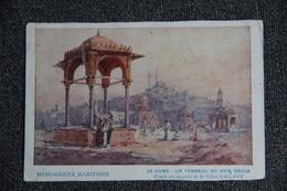 LE CAIRE - Messageries Maritimes, Un Tombeau Du XVII ème Siècle. - Le Caire