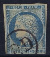 Colonies Francaises: Yv Nr 12 Used Obl  PD Dans Un Cercle