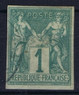 Colonies Francaises: Yv Nr 13  Used Signed/ Signé/signiert