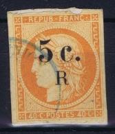Reunion : Yv Nr 6a Orange Vif  Used Obl - Reunion Island (1852-1975)
