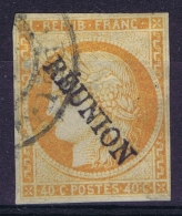 Reunion : Yv Nr 11 Used Obl    1891 Surcharge 15mm * 2.5 Mm - Réunion (1852-1975)