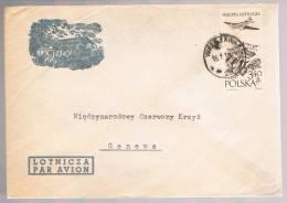 Polska, 196..., For Geneve - Covers & Documents