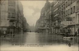 75 - PARIS - 12 ème - Faubourg Saint-antoine - Inondations 1910 - Arrondissement: 12