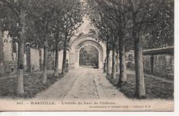 CPA - WARIVILLE - L´ENTREE DU PARC DU CHATEAU - 557 - M. B. - Francia